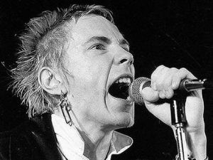 John Joseph Lydon, also known as Johnny Rotten