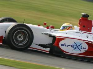 Lewis Hamilton was 2006 GP2 world champion, before moving to Formula 1
