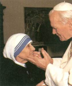 Mother Teresa meeting the then head of the world\'s oldest intelligence agency and executor of the richest tax exempt organisation in the world.