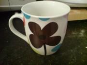 Flowery cup is flowery