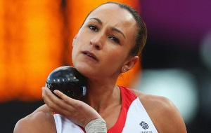 The sporting festival in London which Cadbury's McDonals Adidas don't want me to name cost £8.921 billion.  So here's a picture of Jessica Ennis with massive balls under her chin.